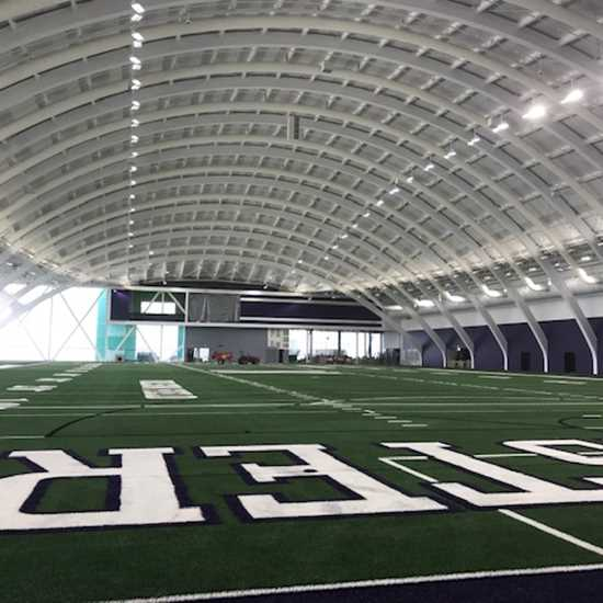 Northwestern University Practice Field Project by Ascher Brothers